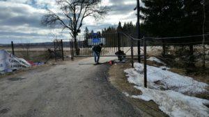СНТ Звездочка -2, ремонт ворот